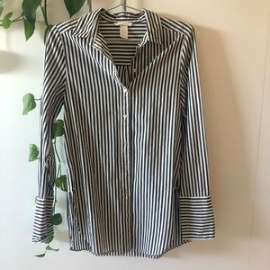 H&M striped shirt US 4